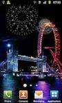 firework london Live Wallpaper screenshot 2/3
