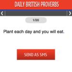 Daily British Proverbs S40 screenshot 1/1