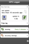 GPX Logger screenshot 1/1