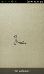 Stickman Fun Live Wallpaper screenshot 2/2