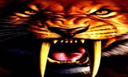 Tiger Tooth Live Wallpaper screenshot 2/3