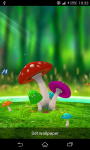Mushroom 3D Live Wallpaper screenshot 1/3