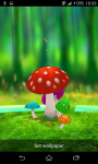 Mushroom 3D Live Wallpaper screenshot 2/3
