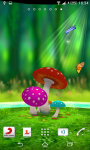 Mushroom 3D Live Wallpaper screenshot 3/3