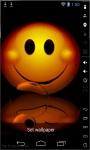 Bubble Smiling Live Wallpaper screenshot 2/2