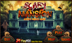 Free Hidden Object Games - Scary Mansion screenshot 1/4