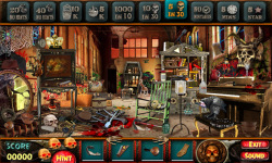 Free Hidden Object Games - Scary Mansion screenshot 3/4