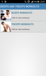 Biceps And Triceps Workouts Body screenshot 1/2