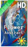 Flower Abstract Live Wallpaper HD screenshot 1/2