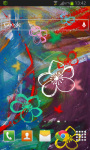 Flower Abstract Live Wallpaper HD screenshot 2/2