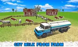 Transport Truck Milk Delivery screenshot 1/4