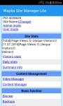Wapka Site Manager Lite screenshot 1/5