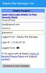 Wapka Site Manager Lite screenshot 3/5