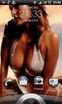 Sweet girl LWP screenshot 2/2