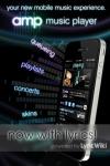 Amp Music Player screenshot 1/1