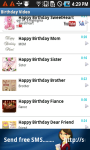 Birthday Video SMS screenshot 2/6