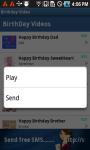 Birthday Video SMS screenshot 3/6