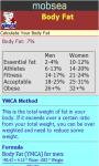 Body Fat Calculator-YMCA v-1 screenshot 3/3