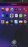 Crystal Blue Super Go Launcher Theme screenshot 3/3