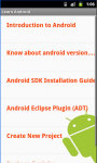 Learn Android screenshot 3/4
