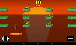 Cliff Chimps Jump screenshot 1/2