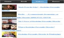 Borderline Personality Disorder screenshot 3/3