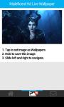 Maleficent Hd Live Wallpaper screenshot 4/6