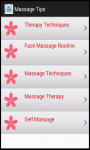 Massage Tips n Therapy screenshot 3/3