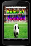 Rules of Football screenshot 1/3