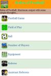Rules of Football screenshot 2/3