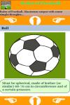 Rules of Football screenshot 3/3