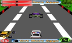 Police Car Speed Racer screenshot 4/6