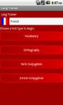 LangTrainer - French screenshot 1/2