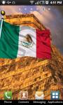 Mexico Flag Live Wallpaper screenshot 1/2
