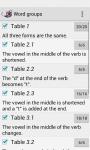 Irregular verbs Free screenshot 3/3