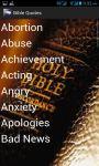 Bible Quotes english screenshot 2/4