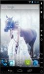 Princess and Horse Live Wallpaper screenshot 1/2