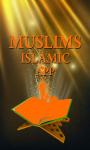 Muslims Islamic Application screenshot 1/1