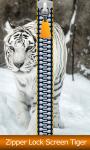 Zipper Lock Screen Tiger screenshot 1/6