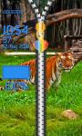 Zipper Lock Screen Tiger screenshot 5/6