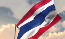 Thai Flag 3D Animation screenshot 3/4
