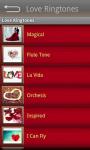 Love Ringtones HD screenshot 5/6