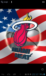 Miami Heat 3D Live WP FREE screenshot 1/6