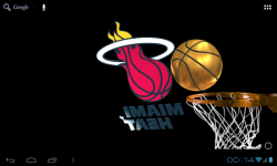 Miami Heat 3D Live WP FREE screenshot 6/6