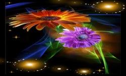 Brighten Flowers Live Wallpaper screenshot 2/3