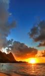 Beautiful Sunset Beach views Live Wallpaper screenshot 3/6