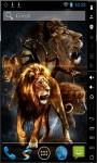 Amazing Lions Live Wallpaper screenshot 2/2
