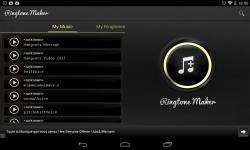 Ringtone maker Alarm screenshot 6/6