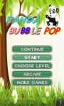 Panda Bubble Pop Shooter screenshot 1/2