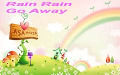 Kids Poem Rain Rain Go Away screenshot 2/4